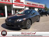 2013 Honda Civic Cpe EX-L* LEATHER! NAVI! SUNROOF! REMOTE START!