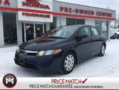 2006 Honda Civic Sdn DX-G* $37.70 WEEKLY! SAFTIED! E-TESTED! AUTO* A/C!