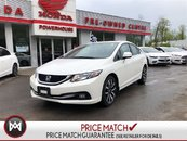 2013 Honda Civic Sdn TOURING! LEATHER! SUNROOF! NAVI!