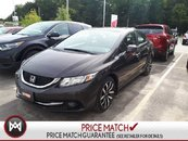 2013 Honda Civic Sdn TOURING! LEATHER! WARRANTY! BACK UP CAM!