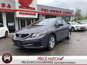 2014 Honda Civic Sedan LX- BLUETOOTH! AUTO! A/C! CRUISE CONTROL!