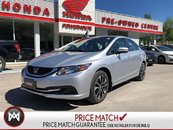 2014 Honda Civic Sedan EX* SUNROOF! BACK-UP CAM! BLIND SPOT CAM!
