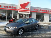 2015 Honda Civic Sedan LX*$54.54 WEEKLY!*BLUETOOTH! HEATED SEATS! CRUISE!