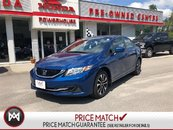 2015 Honda Civic Sedan EX- SUNROOF! ALLOY RIMS! BLUETOOTH! BACKUP CAM!