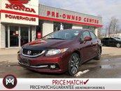 2015 Honda Civic Sedan Touring* EXTENDED WARRANTY!