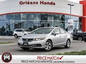 Honda Civic LX- NO Accidents ONE Owner 2013