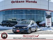2015 Honda Civic LX- Auto Sedan Clean Carproof