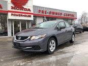 2015 Honda Civic LX* LOW KMS! Back UP CAM! Bluetooth!