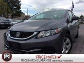 2015 Honda Civic LX  AUX  POWER WINDOWS  CRUISE CONTROL