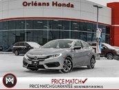 2016 Honda Civic LX-Auto With Honda Warranty TO 100