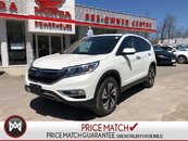 2016 Honda CR-V TOURING* LEATHER! SUNROOF! AWD! ROADSIDE!