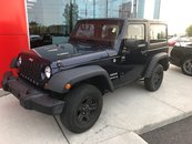 Jeep Wrangler Sport 4WD 2DR PACKAGE 2013