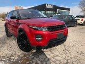 2015 Land Rover Range Rover Evoque NAV CAMERA BLACK WHEELS AWD XENONS DYNAMIC