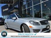2014 Mercedes-Benz C350 4Matic parktronic w/parking guidance