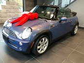 MINI Cooper Convertible CONVERTIBLE 5 SPEED MANUAL HEATED SEATS COOL BLUE 2007