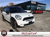 2014 MINI COOPER S Countryman ALL4 NAVI PANORAMIC LEATHER CLOTH COMBO