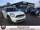 MINI COOPER S Countryman ALL4 JCW PACKAGE NAVIGATION PANORAMIC 18'S WHITE ON LOUNGE LEATHER 2015