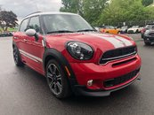 2015 MINI Cooper S Countryman JCW PACKAGE 6MT PANORAMIC HEATED SEATS CHILI RED