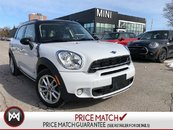 2016 MINI COOPER S Countryman ALL4 AWD HEATED SEATS PANORAMIC 5 PASSENGER LOW KM