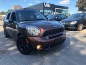 MINI Cooper S Countryman 29KM REAR SENSORS BLACK RIMS AUTO 2014