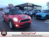 MINI Cooper S CHILI RED TURBO S AUTO PANORAMIC HEATED SEATS WINTERS 2012