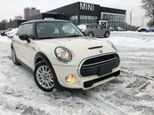 2016 MINI Cooper S COOPER S ROOF HEATED SEATS PEPPER WHITE 189HP
