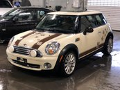 2010 MINI Cooper MAYFAIR LEATHER ROOF 6 MT LOW KM