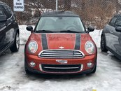 MINI Cooper SPICE ORANGE 6MT WHITE LEATHER CLEAN AS IS SPECIAL 2012