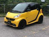 smart Fortwo NAVIGATION LEATHER PANO WINTERS ON RIMS 2013