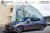 2015 Infiniti Q50 LIMITED NAVIGATION LEATHER CERTIFIED!