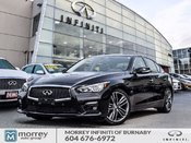 2017 Infiniti Q50 3.0t Sport Tech Pkg Demo Special Like New!