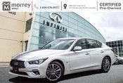 2018 Infiniti Q50 3.0T LUXE AWD ULTRA LOW KMS