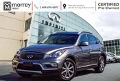2016 Infiniti QX50 LEATHER BLUETOOTH LOW KMS!