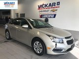 2015 Chevrolet Cruze 1LT LOW KILOMETER, AUTOMATIC, BACK UP CAMERA  - $117.45 B/W