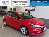 2017 Chevrolet Cruze LT  BLUETOOTH, REAR VIEW CAMERA, HEATED SEATS  - $117.69 B/W