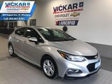 2017 Chevrolet Cruze LT HATCHBACK,  SUNROOF, BOSE, REAR VIEW CAMERA
