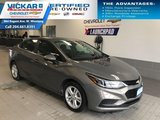 2018 Chevrolet Cruze LT  BOSE AUDIO, SUNROOF, HEATED SEATS  - $140.56 B/W