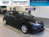 2018 Chevrolet Cruze LT  BOSE AUDIO, SUNROOF, HEATED SEATS  - $140.65 B/W