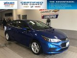 2018 Chevrolet Cruze LT, BOSE AUDIO, SUNROOF, BACK UP CAMERA  - $133.92 B/W