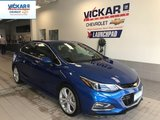 2018 Chevrolet Cruze Premier, LEATHER HEATED SEATS, HEATED STEERING WHEEL, REMOTE START  - $138.63 B/W