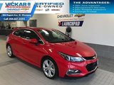 2018 Chevrolet Cruze Premier   LEATHER INTERIOR, HEATED STEERING WHEEL AND SEATS, BLUETOOTH  - $138 B/W