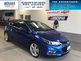 2018 Chevrolet Cruze Premier   HATCHBACK, LEATHER INTERIOR, HEATED STEERING WHEEL, BLUETOOTH