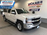 2017 Chevrolet Silverado 1500 5.3L V8, 4X4, CREW CAB, CENTER CONSOLE, HEATED SEATS  - $242 B/W