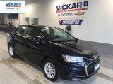 2017 Chevrolet Sonic LT  BLUETOOTH, REMOTE START, BACK UP CAMERA  - $96.84 B/W