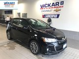 2017 Chevrolet Sonic RS TURBO, SUNROOF, REMOTE STARTER  - $120.45 B/W
