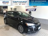 2017 Chevrolet Sonic RS TURBO, SUNROOF, REMOTE STARTER  - $113.65 B/W