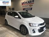 2018 Chevrolet Sonic R/S PACKAGE, SUNROOF, BLUETOOTH  - $113.35 B/W