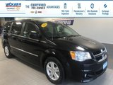 2017 Dodge Grand Caravan Crew LEATHER, POWER REAR DOORS AND HATCH STOW N  GO  - $169.56 B/W
