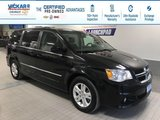 2017 Dodge Grand Caravan CREW STOW N GO, LEATHER SEATS, POWER REAR DOORS AND HATCH  - $150.70 B/W