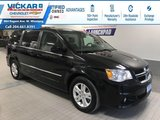 2017 Dodge Grand Caravan CREW STOW N GO, LEATHER SEATS, POWER REAR DOORS AND HATCH  - $140.59 B/W